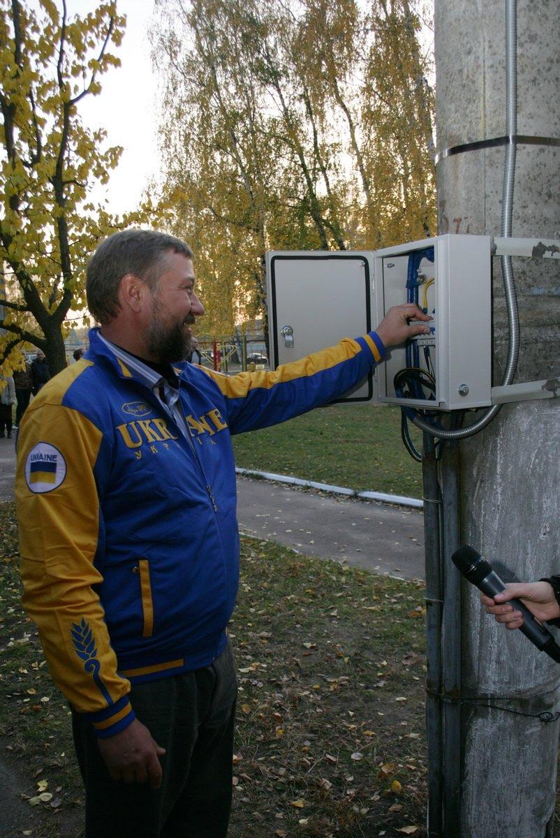 Биатлонная трасса в Чернигове получила освещение, фото-2