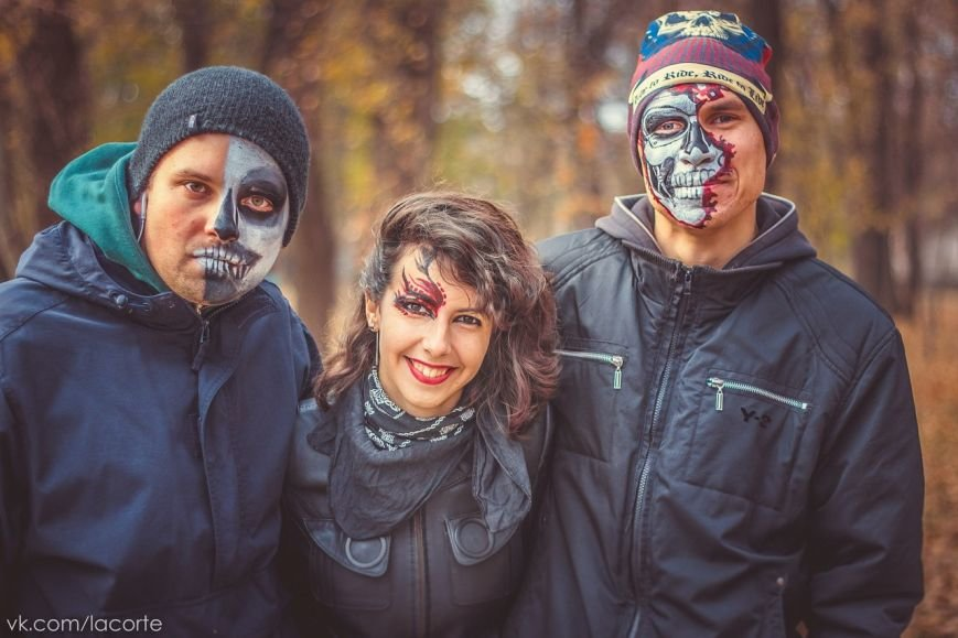 В Кривом Роге черти и ведьмы катались на велосипедах (ФОТО), фото-7