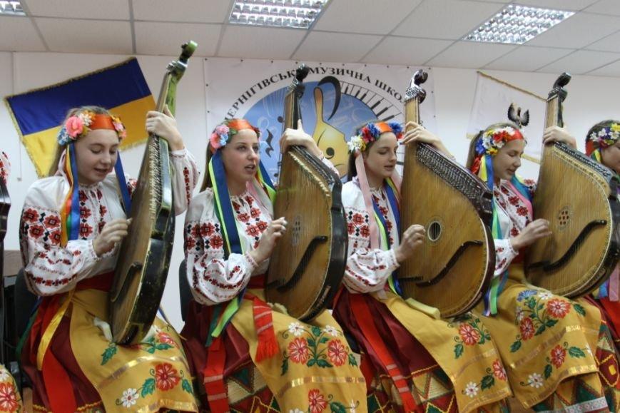 Черниговская музыкальная школа № 2 отметила юбилей. В подарок получила имя, фото-8
