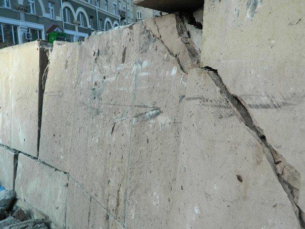 У центрі Тернополя водій «Тойоти» врізався в огорожу (ФОТО), фото-1