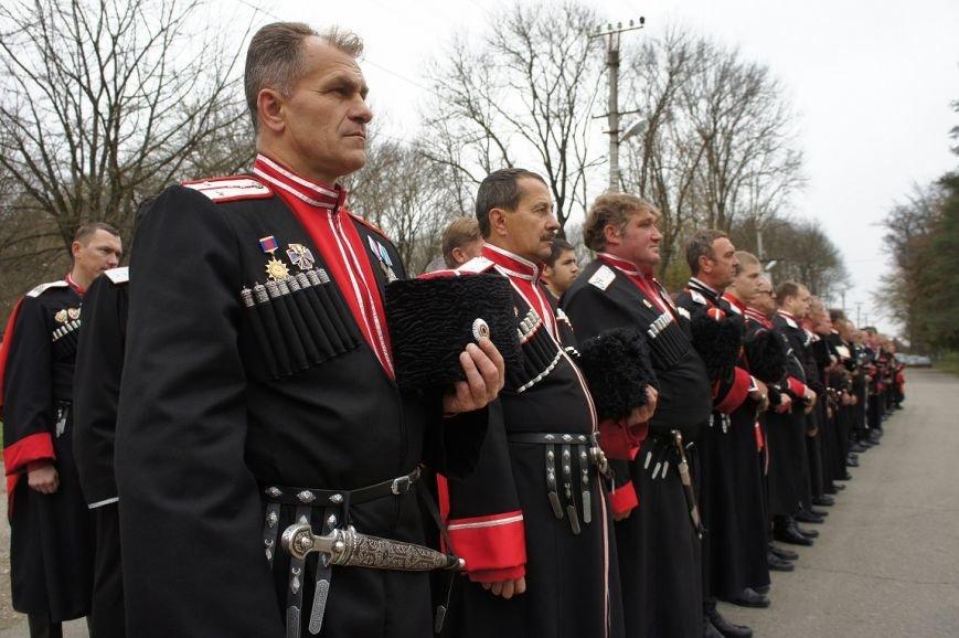 Белореченские казаки приняли участие в апшеронских поминовениях, фото-1
