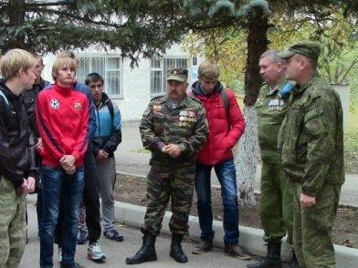 Допризывники побывали в 10-ой бригаде спецназа ГРУ, фото-1