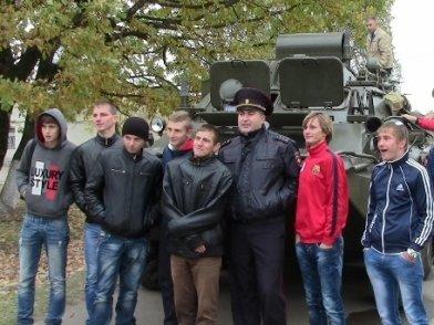 Допризывники побывали в 10-ой бригаде спецназа ГРУ, фото-2