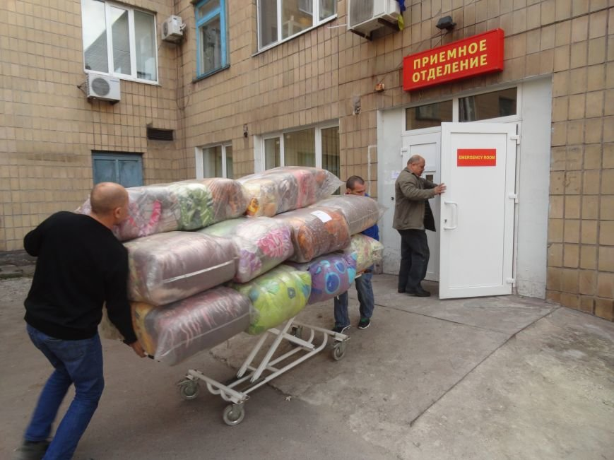 Теплые одеяла согреют больных в БСМП Мариуполя (ФОТОРЕПОРТАЖ), фото-2