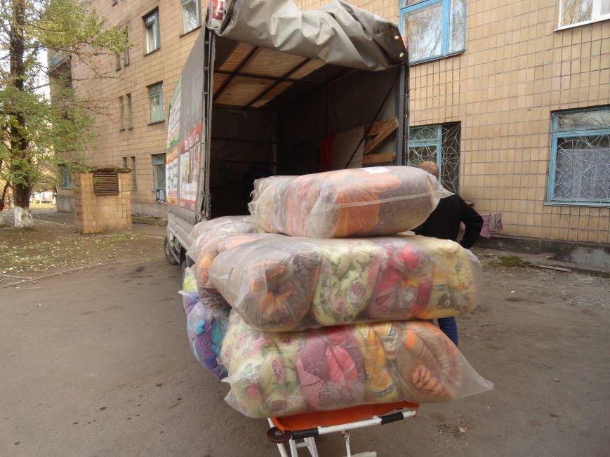 Теплые одеяла согреют больных в БСМП Мариуполя (ФОТОРЕПОРТАЖ), фото-1