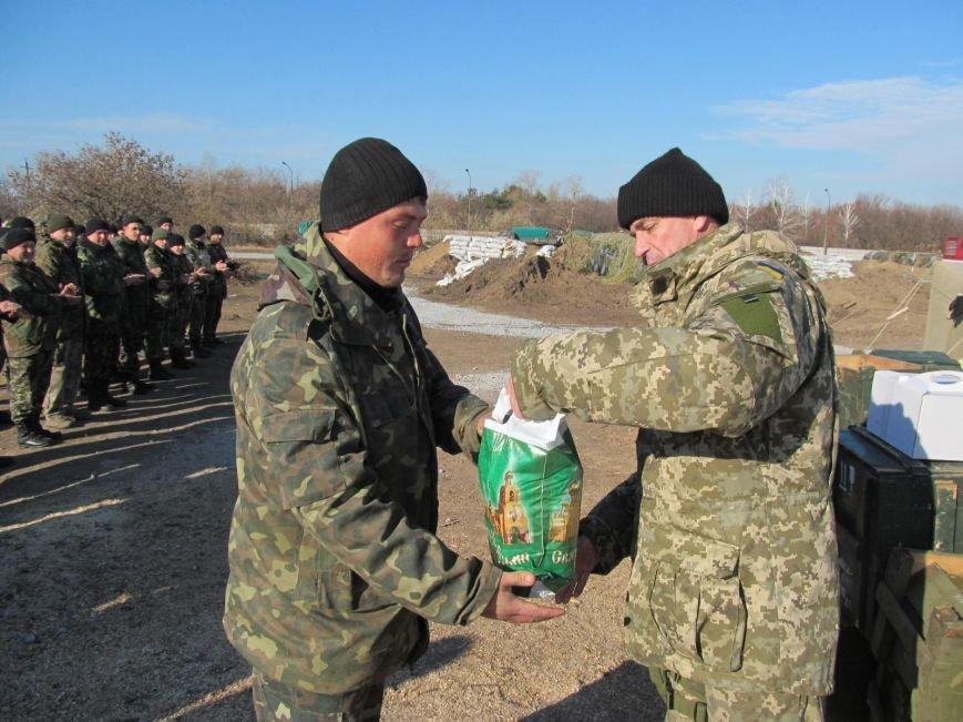 В Мариуполе саперов и артиллеристов поздравили с праздником (ФОТО), фото-1