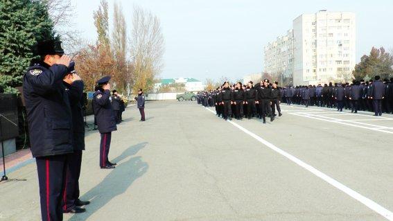 Херсонская милиция перешла на зимнюю форму, фото-1