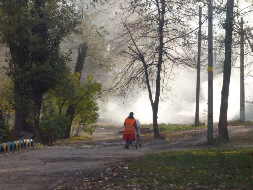В Кривом Роге сухие листья сжигают прямо во дворах (ФОТОФАКТ), фото-5