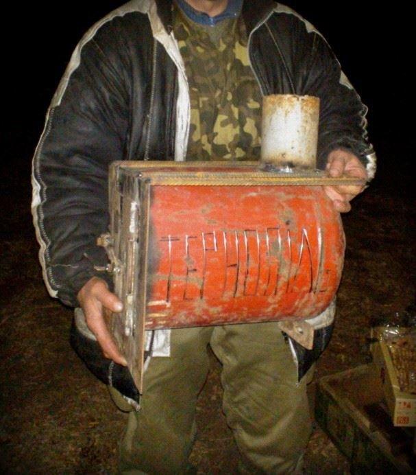 «Буржуйки» з Тернополя гріють в зоні АТО не лише тіло, а й душу, фото-1
