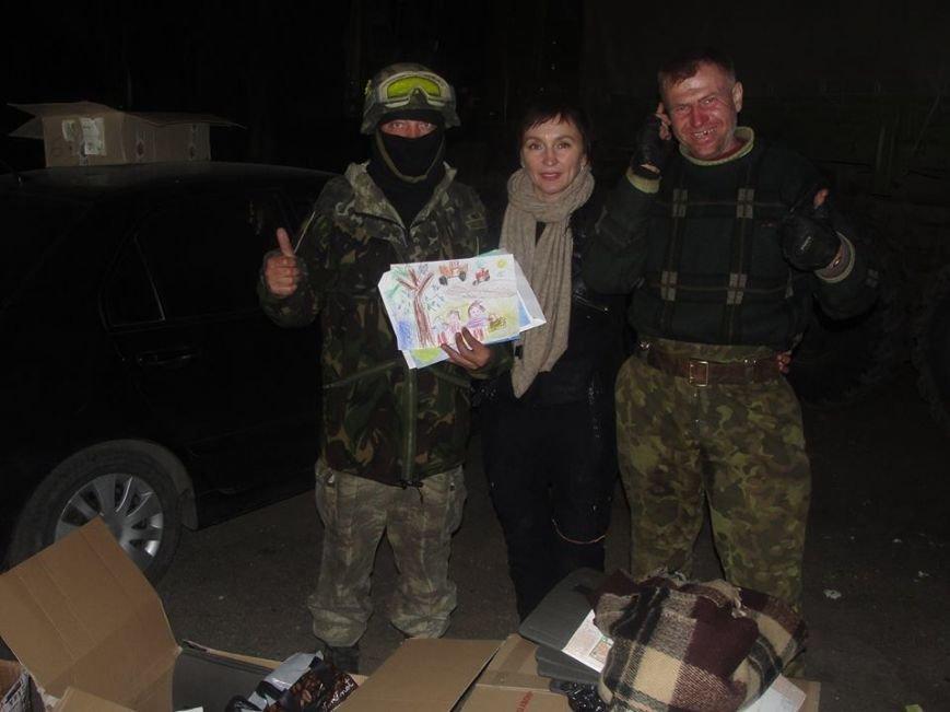 Киевские волонтеры передали подарки мариупольским артиллеристам (ФОТО), фото-3