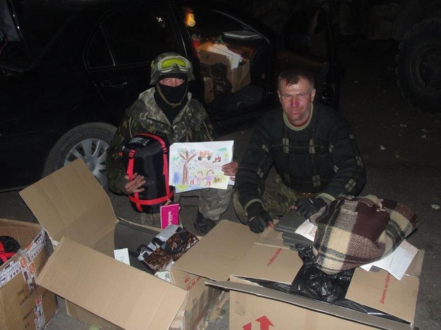 Киевские волонтеры передали подарки мариупольским артиллеристам (ФОТО), фото-4