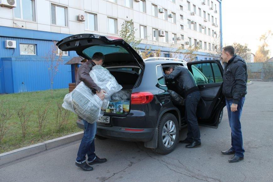 Бойцы структурного подразделения «Кривбасс» отправились для выполнения боевых задач на востоке страны(ФОТО), фото-2