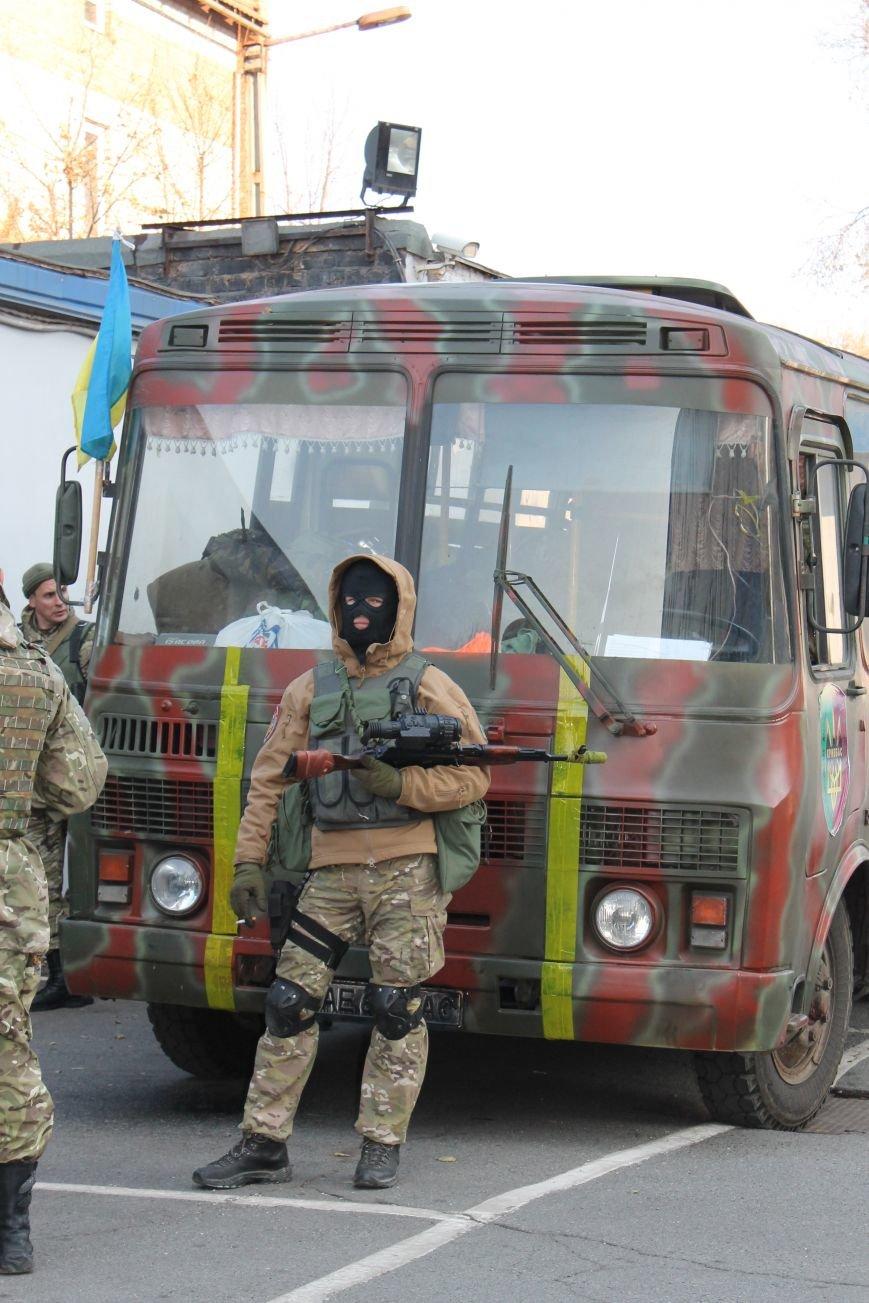 Бойцы структурного подразделения «Кривбасс» отправились для выполнения боевых задач на востоке страны(ФОТО), фото-4