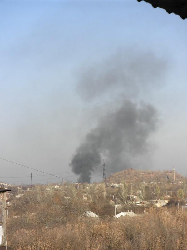 В Донецке продолжается бой в районе аэропорта и поселка Пески (ФОТО), фото-1