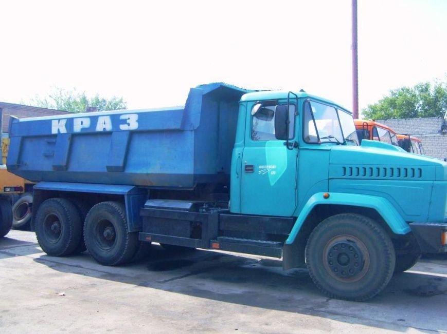 автомобиль КрАЗ-65055 Никол ДЄУб