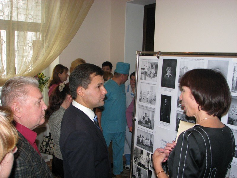 Фотовыставка «Больница достоинства человеческого» – к 100 - летнему юбилею больницы в Херсоне, фото-1