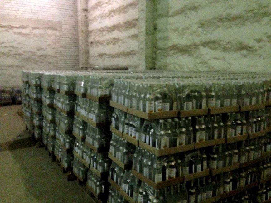 На Херсонщине изъяли алкогольный фальсификат на миллион гривен, фото-1