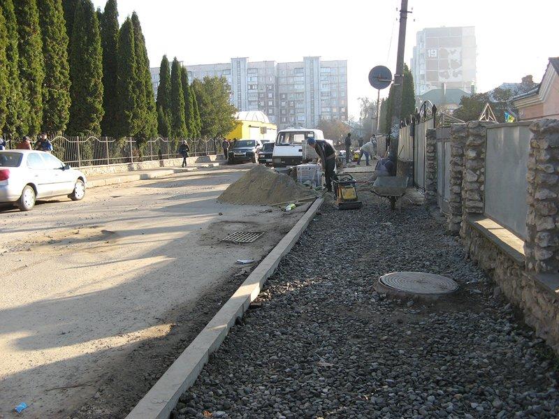 Як просувається ремонт на вул. Оболоня у Тернополі? (фото), фото-1