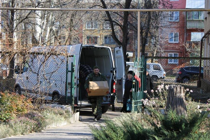 Батальон «Днепр-1» оказал помощь вынужденным переселенцам, которые проживают в Красноармейске, фото-6