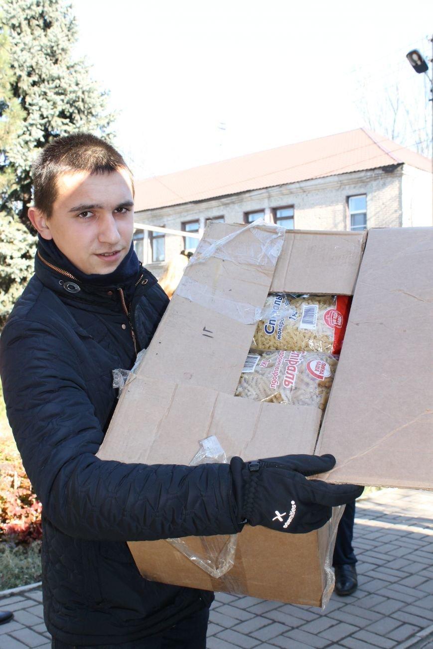 Батальон «Днепр-1» оказал помощь вынужденным переселенцам, которые проживают в Красноармейске, фото-4
