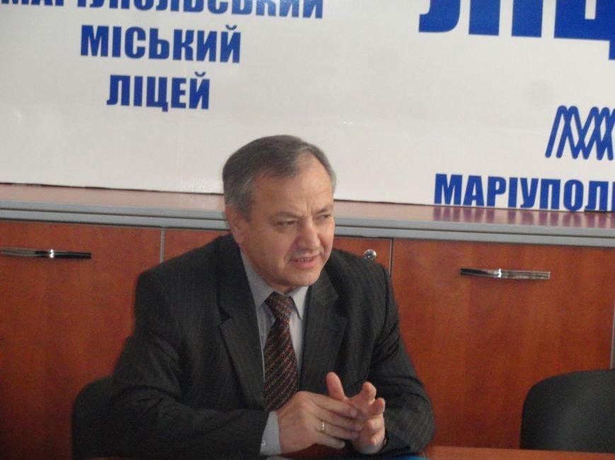 Советник СБУ и экс-министр обороны Украины просвещали мариупольцев (ФОТОРЕПОРТАЖ), фото-7