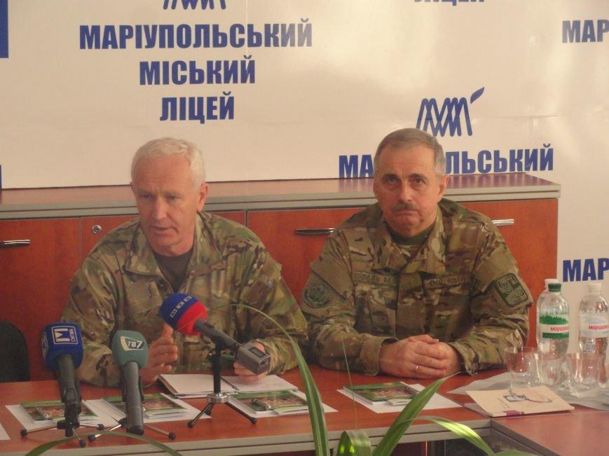 Советник СБУ и экс-министр обороны Украины просвещали мариупольцев (ФОТОРЕПОРТАЖ), фото-1