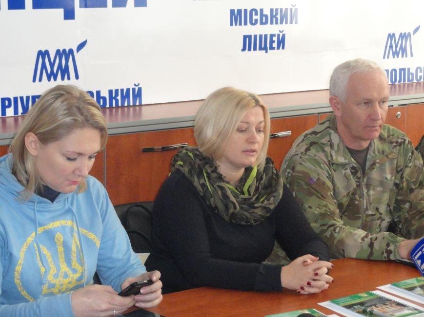 Советник СБУ и экс-министр обороны Украины просвещали мариупольцев (ФОТОРЕПОРТАЖ), фото-9