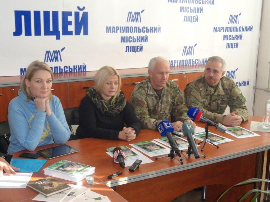 Советник СБУ и экс-министр обороны Украины просвещали мариупольцев (ФОТОРЕПОРТАЖ), фото-8