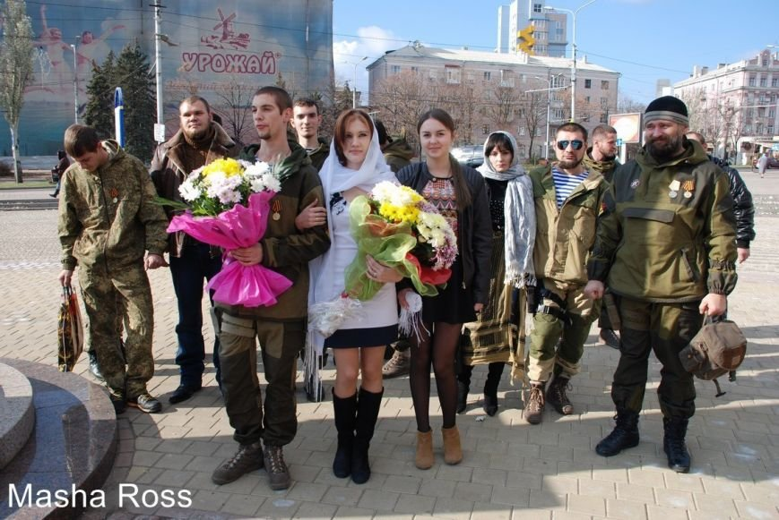 Криворожанин Дмитрий Маймур женился в «ДНР» на девушке с автоматом (ФОТО), фото-5