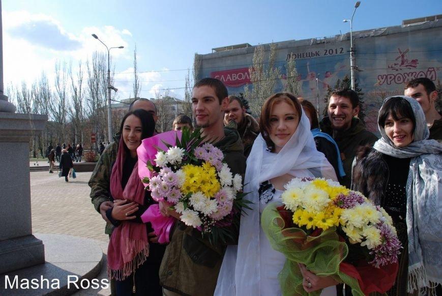 Криворожанин Дмитрий Маймур женился в «ДНР» на девушке с автоматом (ФОТО), фото-4