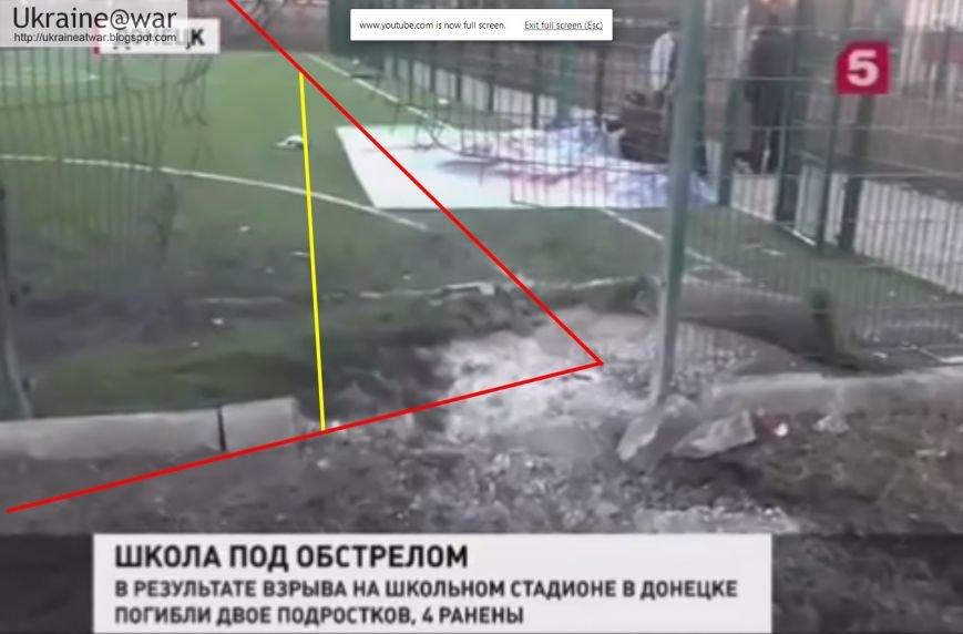 Снаряд, от которого в Донецке погибли подростки, прилетел из Макеевки, подконтрольной «ДНР», фото-2