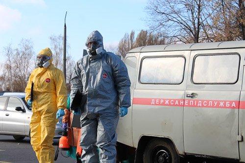 В Днепропетровске женщину с подозрением на вирус Эбола госпитализировали из аэропорта в больницу (ФОТОРЕПОРТАЖ), фото-7