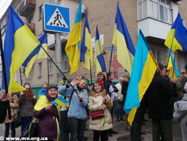 В Мелитополе коммунистов не пустили пройти маршем по главному проспекту (ФОТО, ВИДЕО), фото-2
