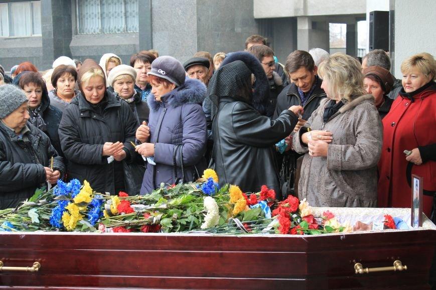 В Сумах попрощались с бойцом АТО, умершим от сердечной недостаточности (ФОТО), фото-2