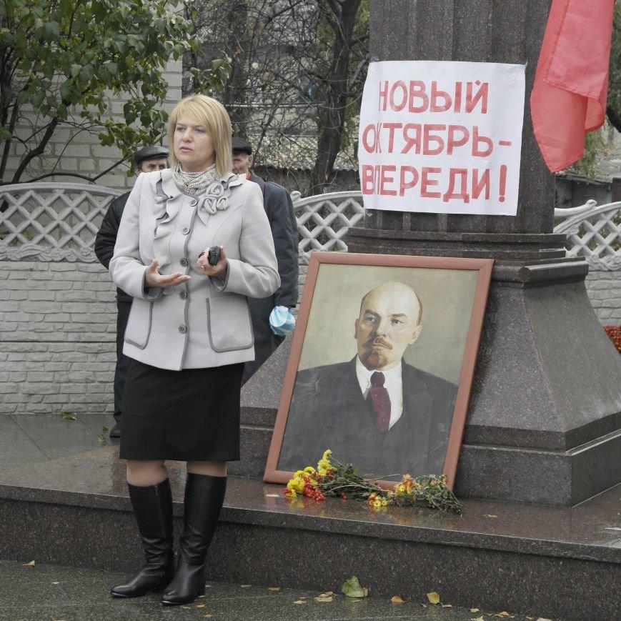 Митинг 7 ноября в Красноармейске: буднично, скромно и без... Ленина, фото-7