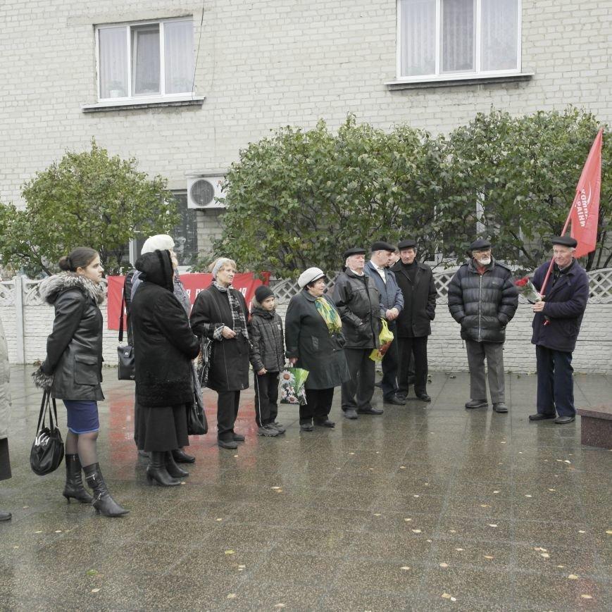 Митинг 7 ноября в Красноармейске: буднично, скромно и без... Ленина, фото-8