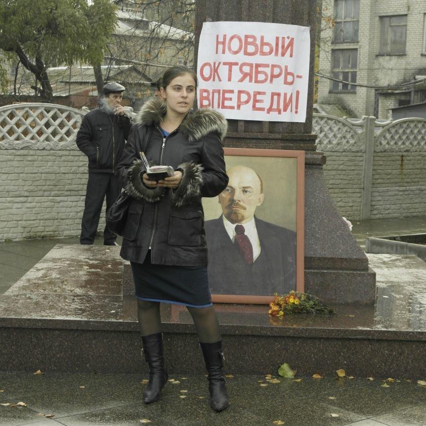 Митинг 7 ноября в Красноармейске: буднично, скромно и без... Ленина, фото-3