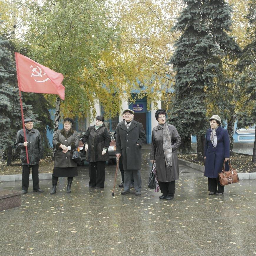 Митинг 7 ноября в Красноармейске: буднично, скромно и без... Ленина, фото-4