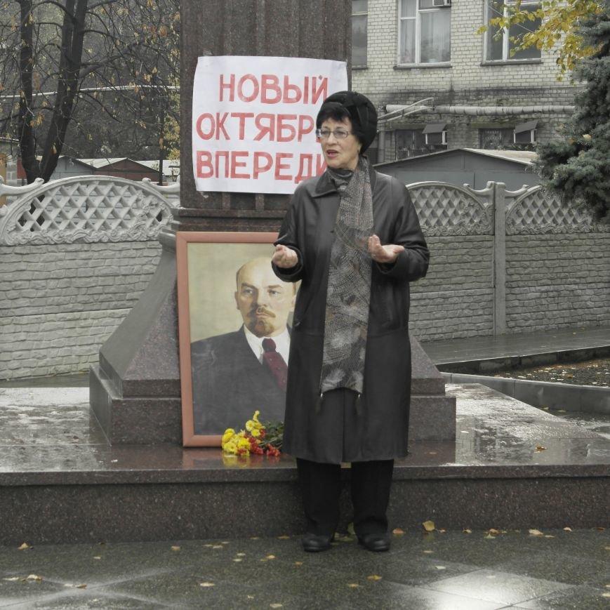 Митинг 7 ноября в Красноармейске: буднично, скромно и без... Ленина, фото-10
