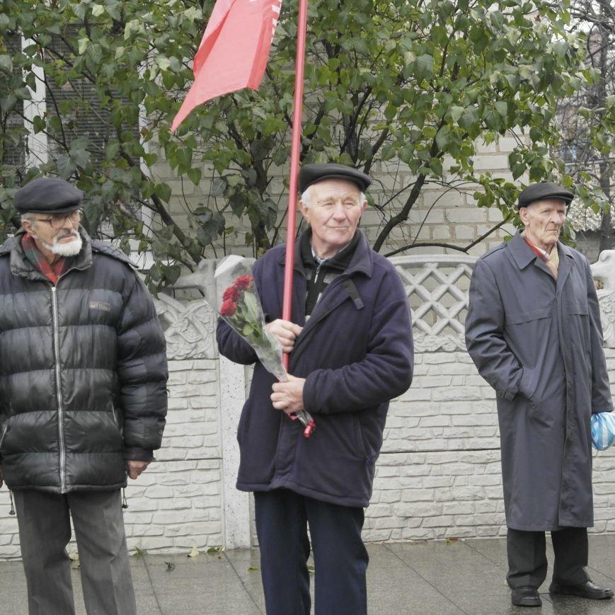 Митинг 7 ноября в Красноармейске: буднично, скромно и без... Ленина, фото-11