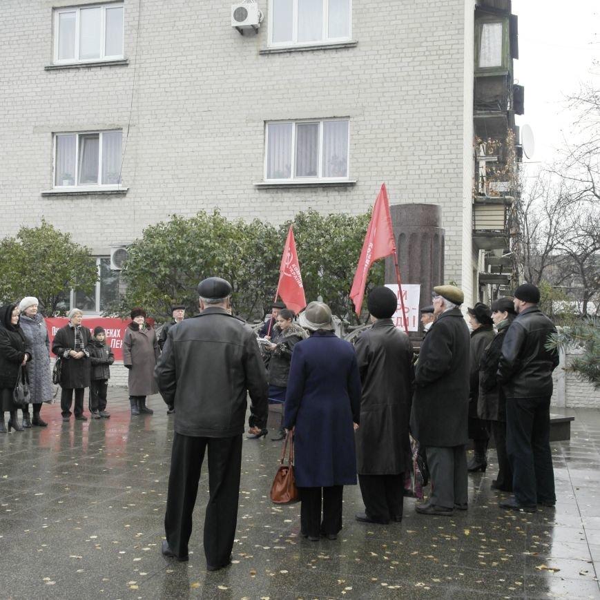 Митинг 7 ноября в Красноармейске: буднично, скромно и без... Ленина, фото-6