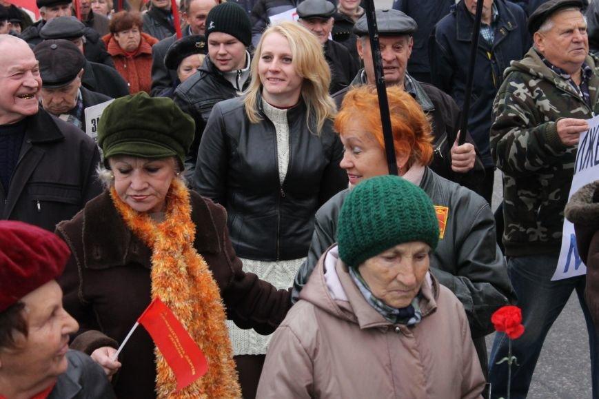 Коммунисты Кривого Рога рассказали молодым активистам, что в СССР всем давали квартиры, а сейчас одни наркоманы и фашисты  (ФОТОРЕПОРТАЖ), фото-6