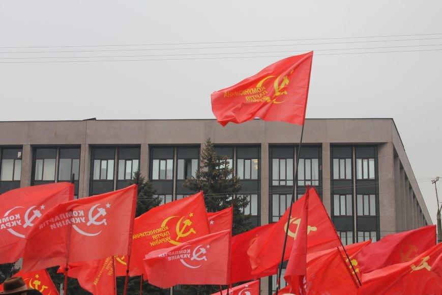 Коммунисты Кривого Рога рассказали молодым активистам, что в СССР всем давали квартиры, а сейчас одни наркоманы и фашисты  (ФОТОРЕПОРТАЖ), фото-3