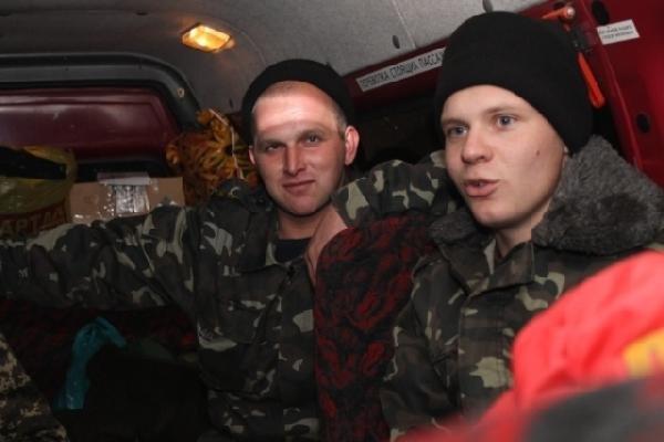 Бойцы черниговской танковой бригады снова поехали в зону АТО, фото-1