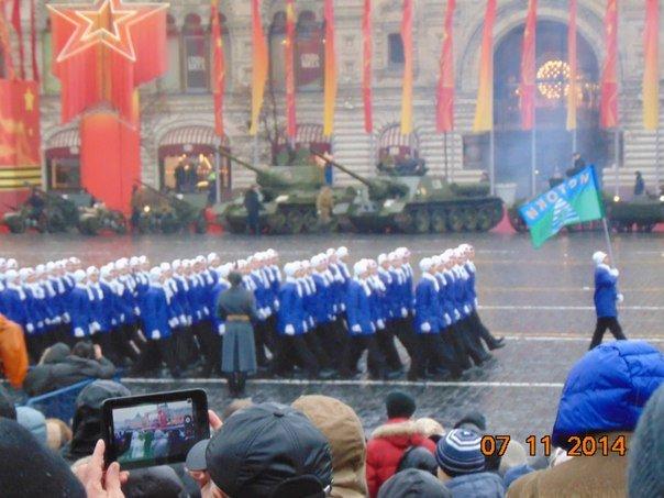 Троицкие школьники приняли участие в параде на Красной площади!, фото-2