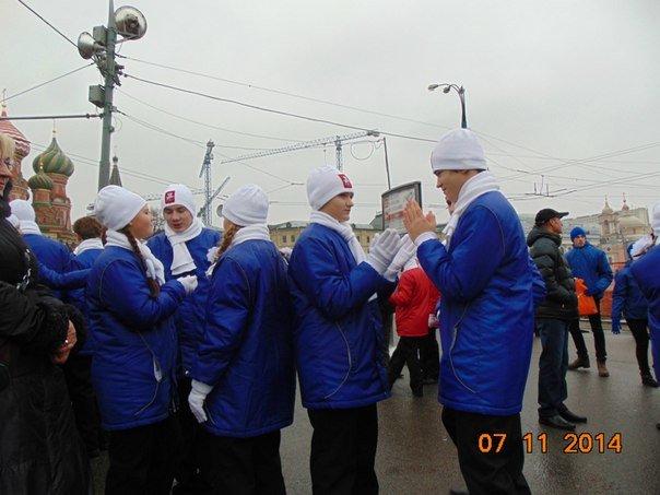 Троицкие школьники приняли участие в параде на Красной площади!, фото-1