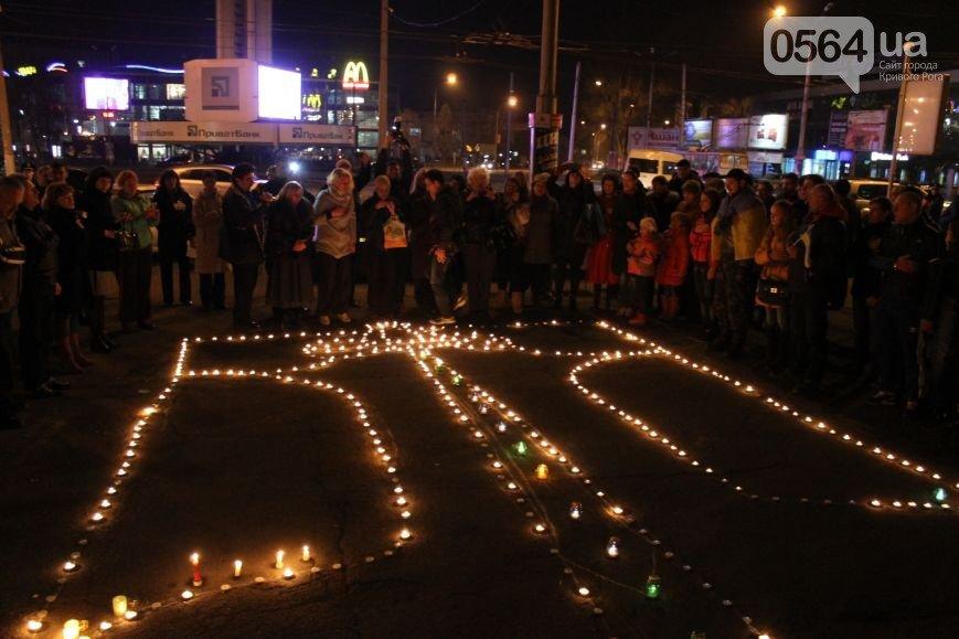 В Кривом Роге зажгли герб Украины и разбили мемориальную доску памяти погибших в АТО (ФОТО), фото-2