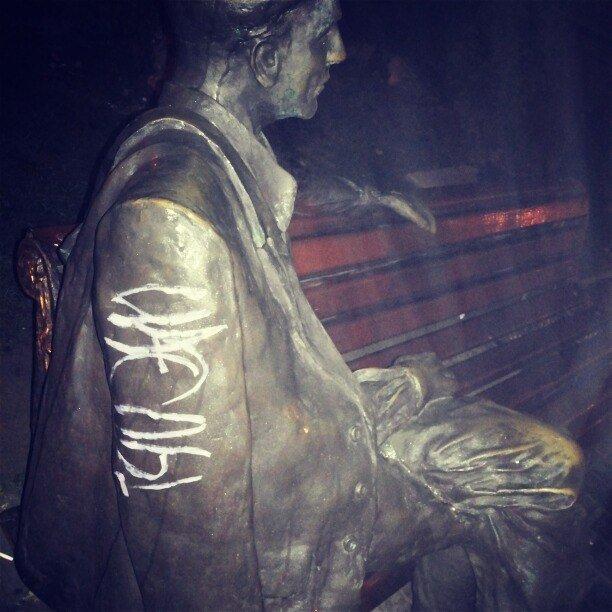 Российские СМИ извратили информацию о запорожском памятнике герою фильма «Весна на улице Заречной» (ФОТО), фото-1