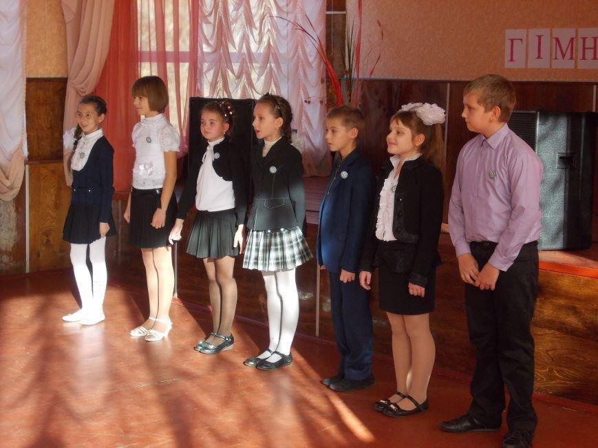 В Красноармейском учебном заведении прошел праздник «Посвящение в гимназисты», фото-2