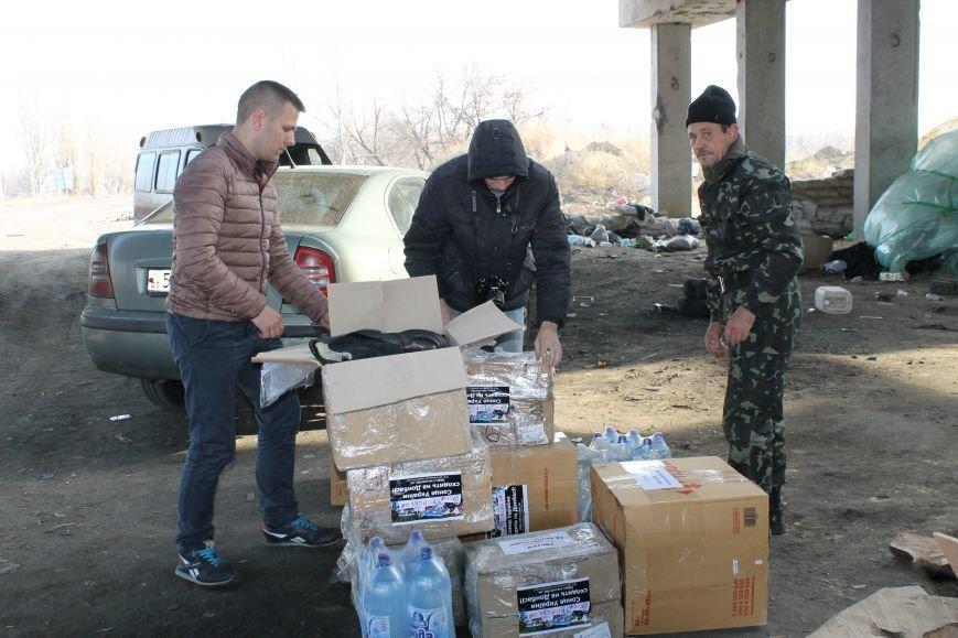 Из Красноармейска на передовую: журналисты 06239 с волонтерами из «ДПР» посетили блокпост в Песках, фото-28